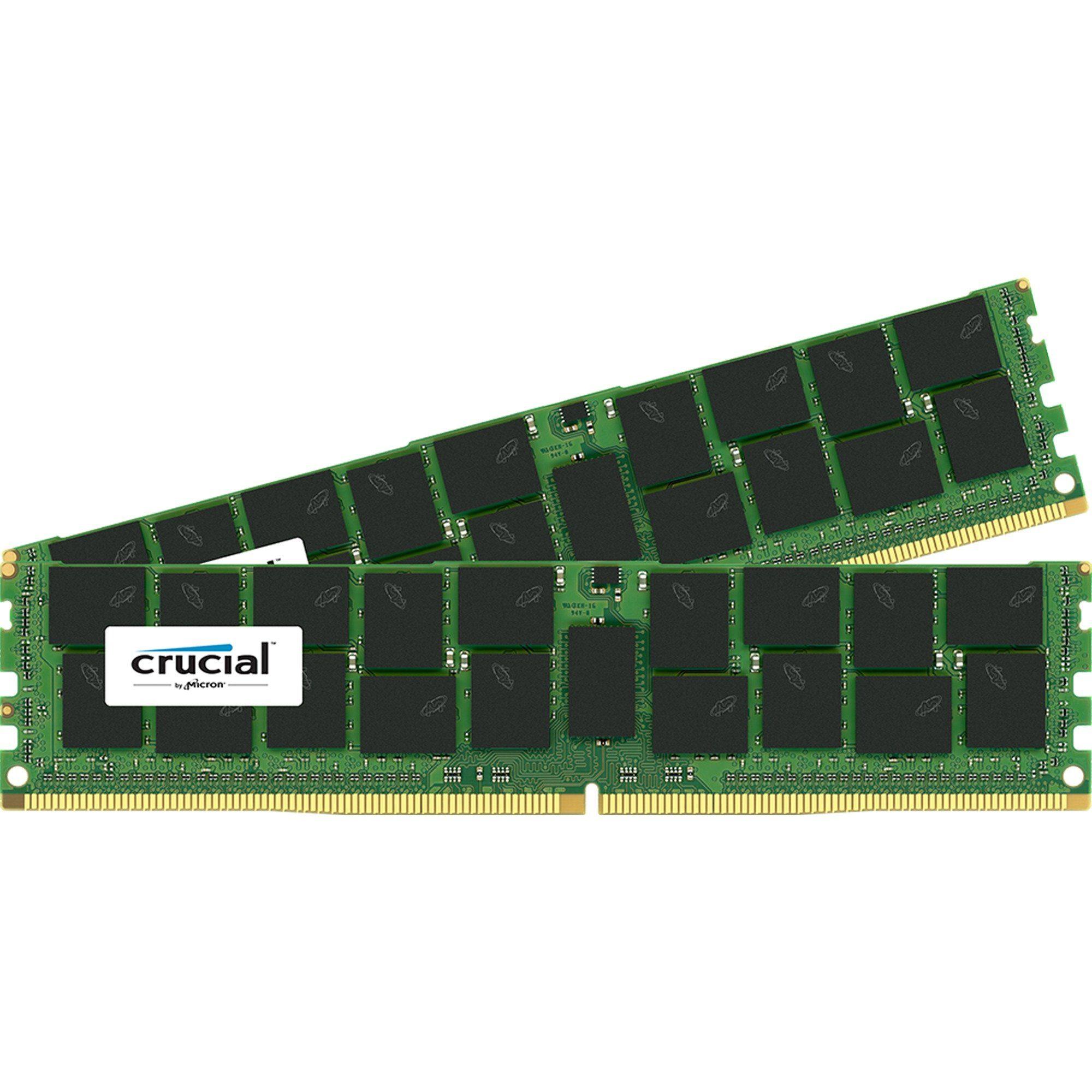 Crucial Arbeitsspeicher »DIMM 16 GB ECC Registered DDR4-2133 Kit«