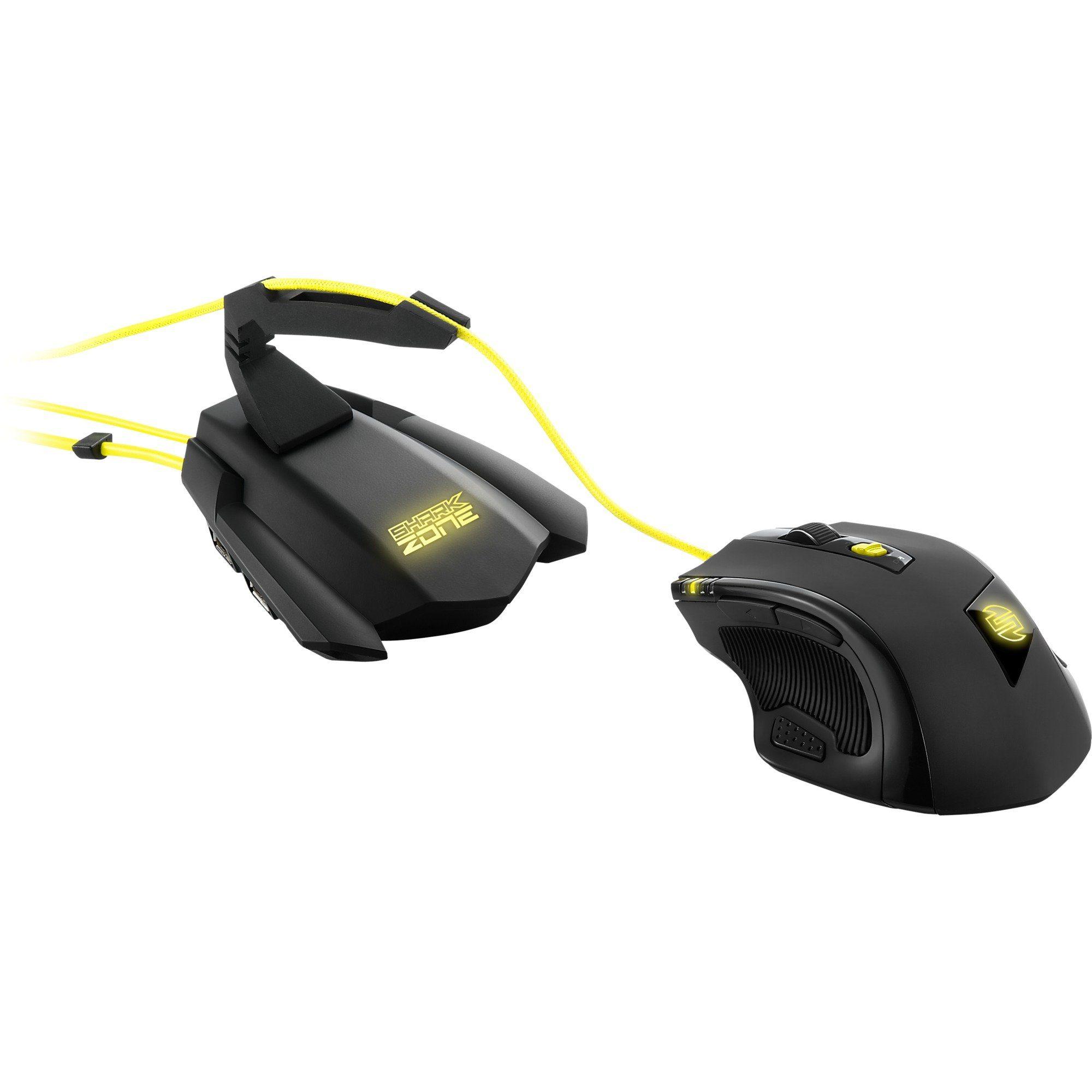 Sharkoon Maus »SHARK ZONE M51+ Gaming Bundle«