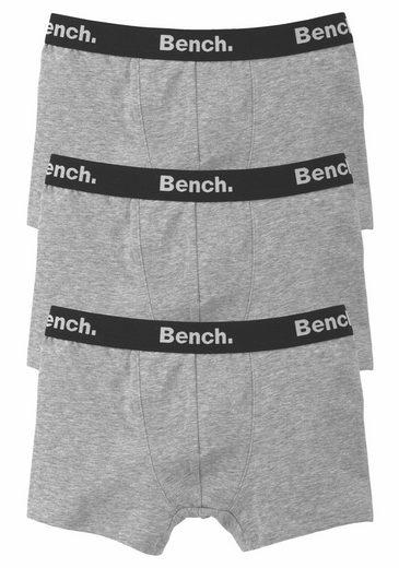 Bench. Boxer (3 Stück) mit Logo-Webbund