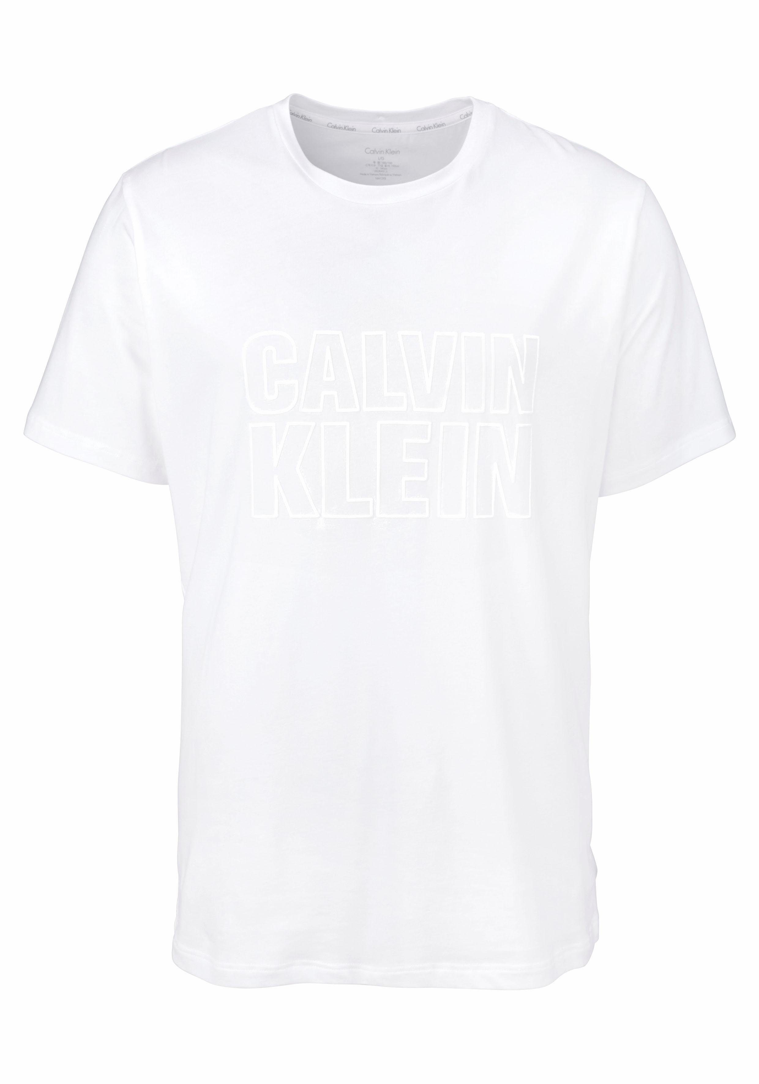 Calvin Klein Herren T-Shirt mit Logoprint