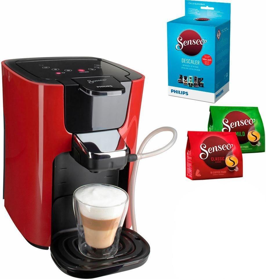 senseo kaffeepadmaschine senseo latteduo hd7855 80 inkl gratis zugaben im wert von 14 uvp. Black Bedroom Furniture Sets. Home Design Ideas