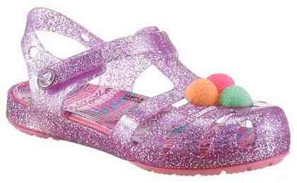Crocs »Crocs Isabella Novelty Sandal« Sandale, mit verstellbarem Klettverschluss