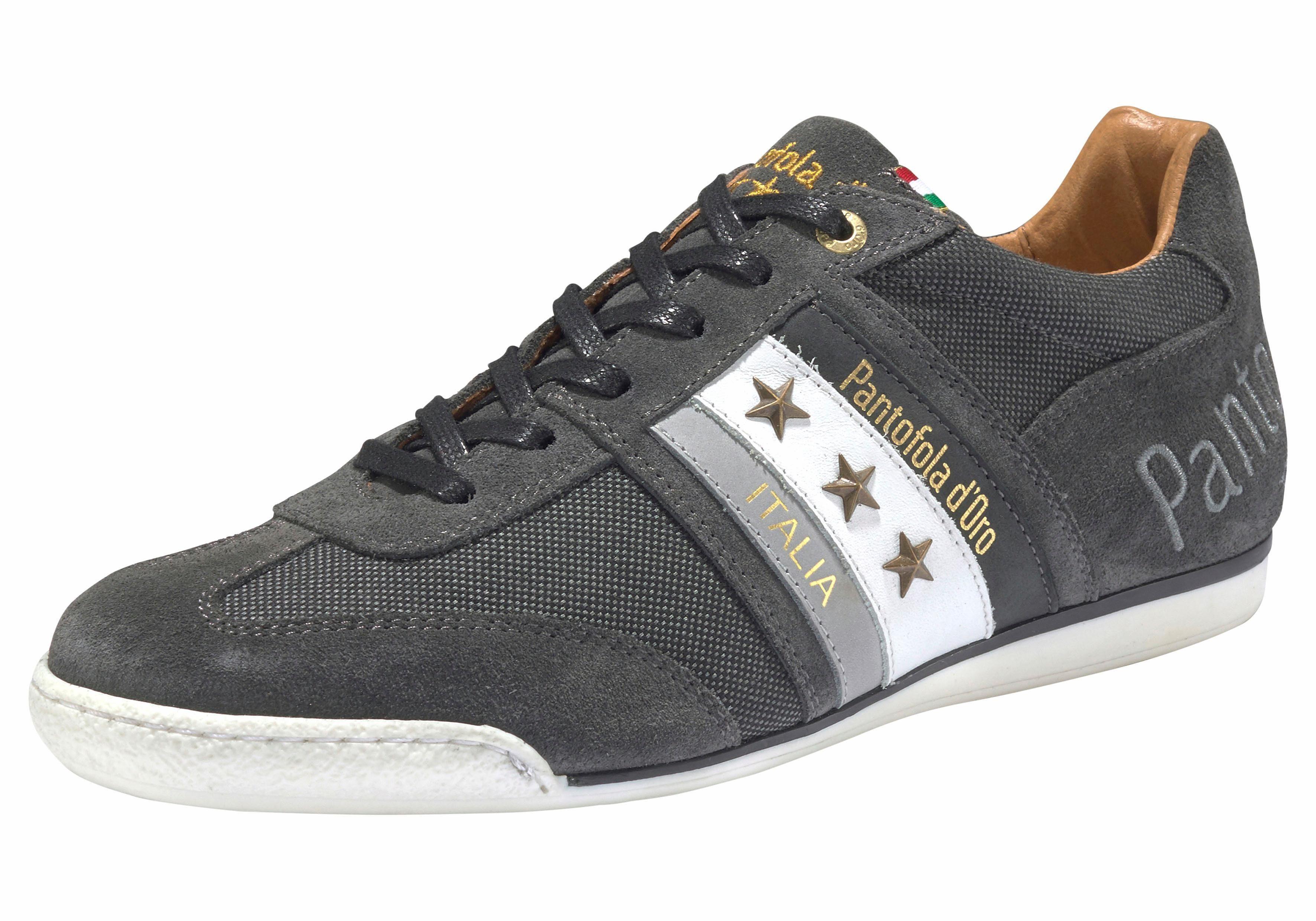 Pantofola d´Oro Imola Canvas Low Sneaker kaufen  grau