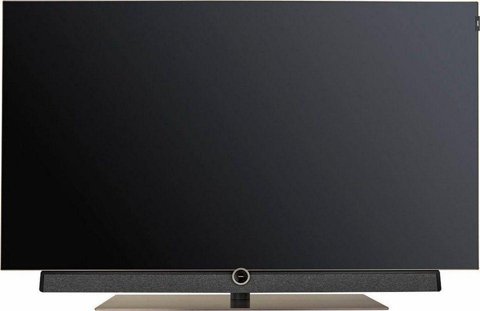 loewe bild set oled fernseher 139 cm 55 zoll 4k. Black Bedroom Furniture Sets. Home Design Ideas