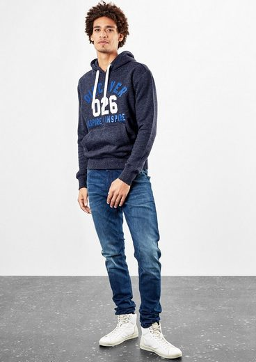 Q/S designed by Hoodie mit Statement-Print