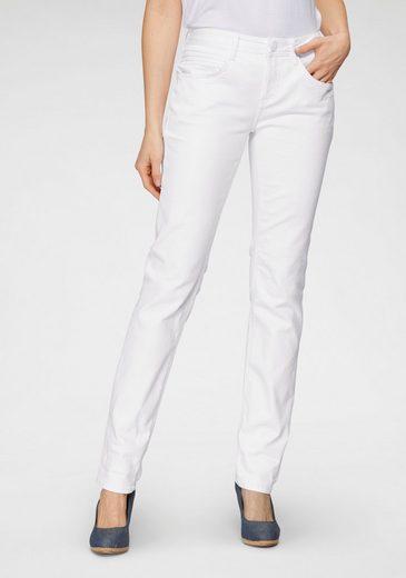 STREET ONE Slim-fit-Jeans »Crissi Colored Denim«
