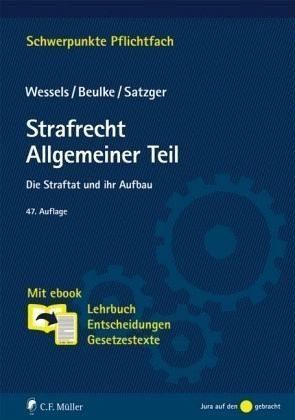 Broschiertes Buch »Strafrecht Allgemeiner Teil«