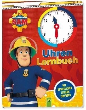 Buch mit Papp-Einband »Feuerwehrmann Sam Uhrenlernbuch«