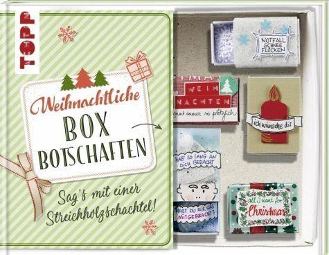 Gebundenes Buch »Weihnachtliche Boxbotschaften. Sag's mit einer...«