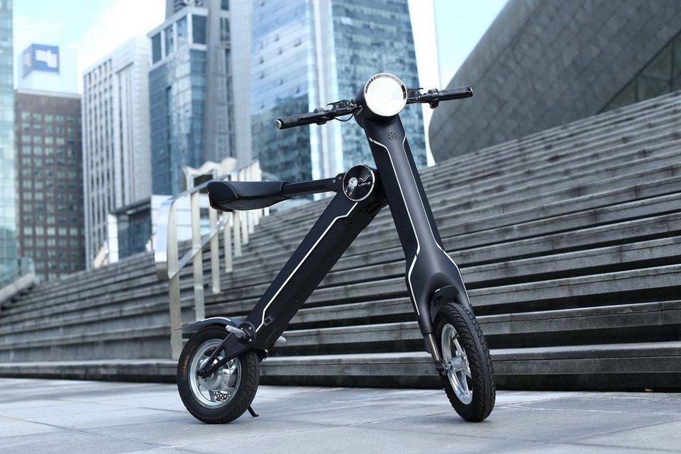 elektro scooter mit latest smart scooter elektro scooter. Black Bedroom Furniture Sets. Home Design Ideas