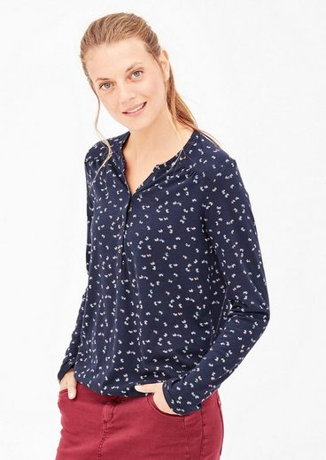 s.Oliver RED LABEL Tunikashirt mit Allover-Print