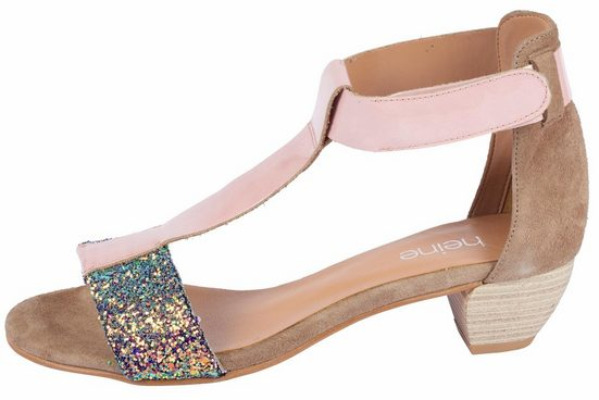 Heine Sandalette mit Glitter