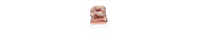 XYXYX Sandalette mit Blütenapplikation Billig Perfekt Sneakernews Günstig Online Günstig Kaufen Footlocker Bilder 9krdr