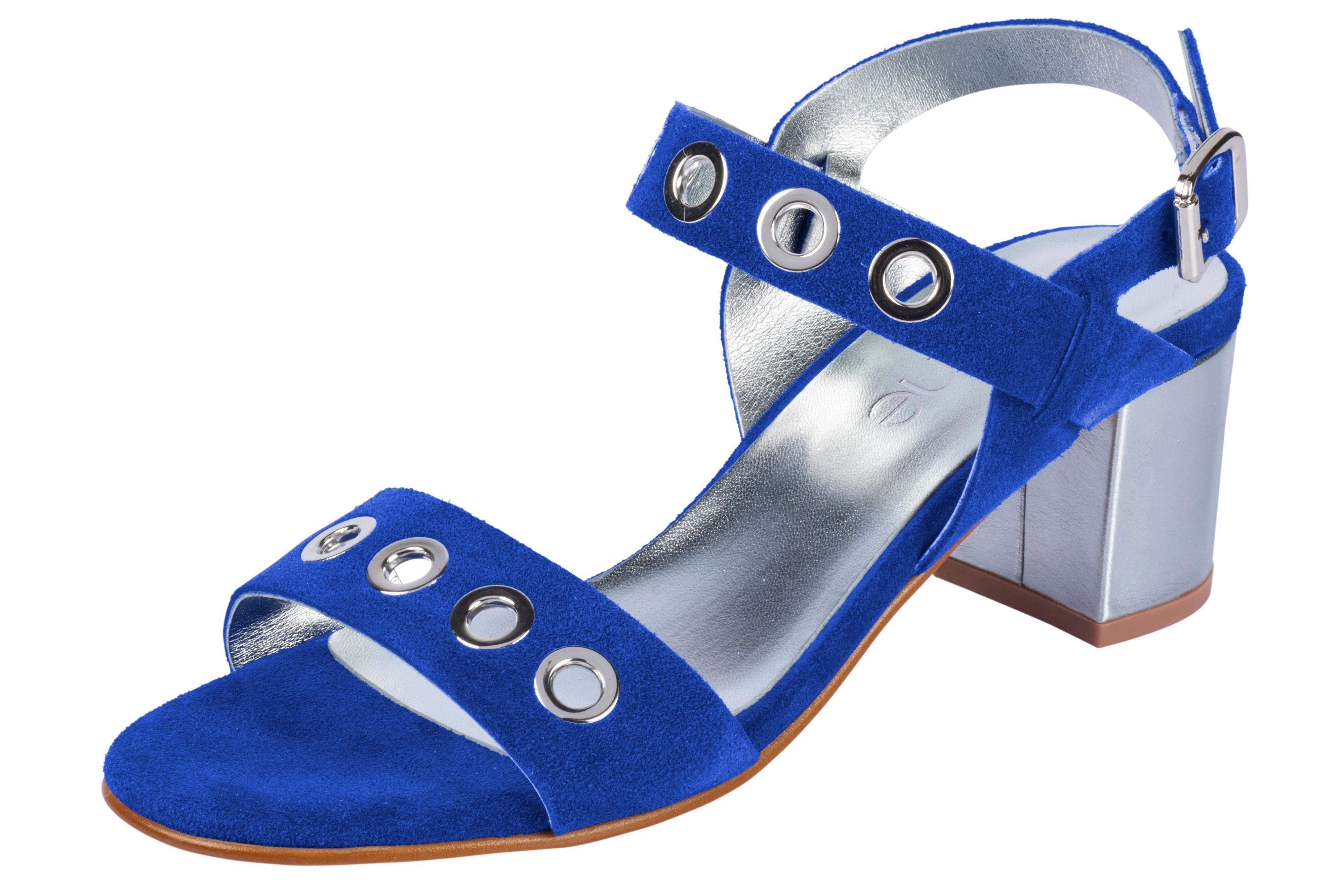 Heine Sandalette mit Nieten online kaufen  royalblau