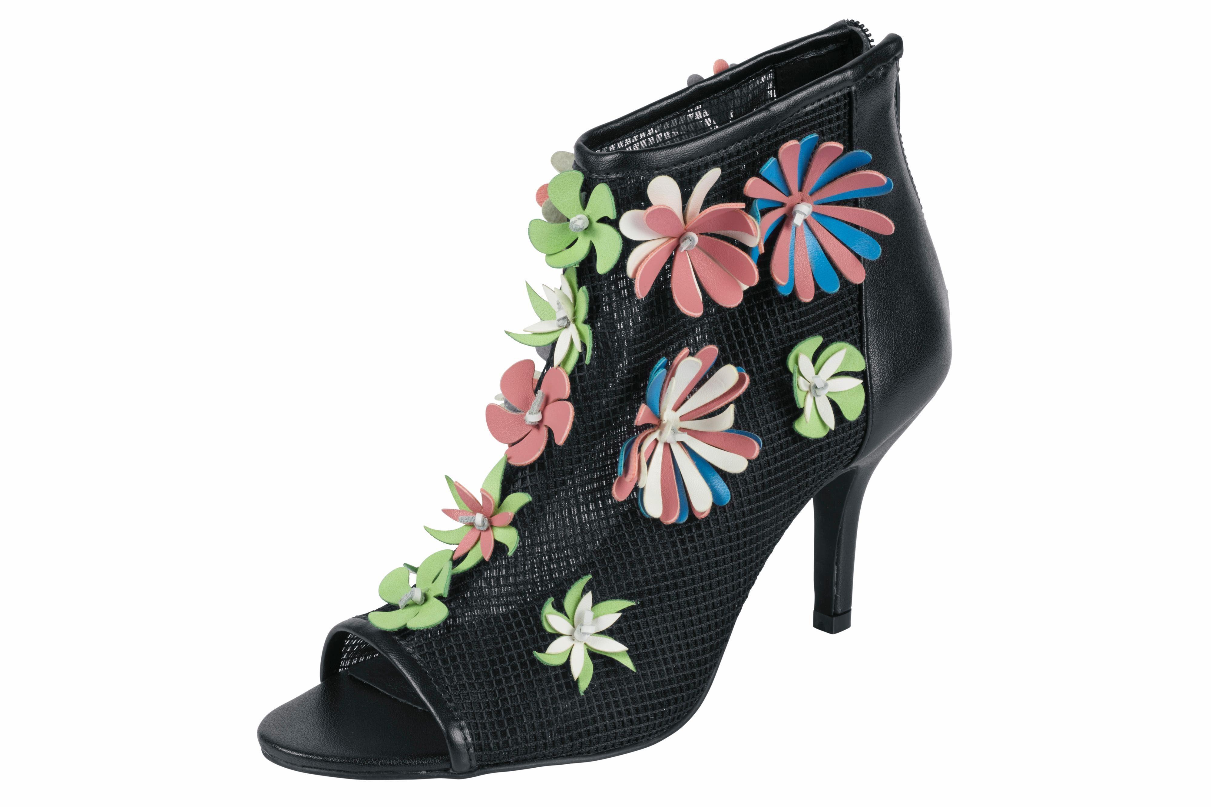 Heine Stiefelette mit Blüten-Applikation kaufen