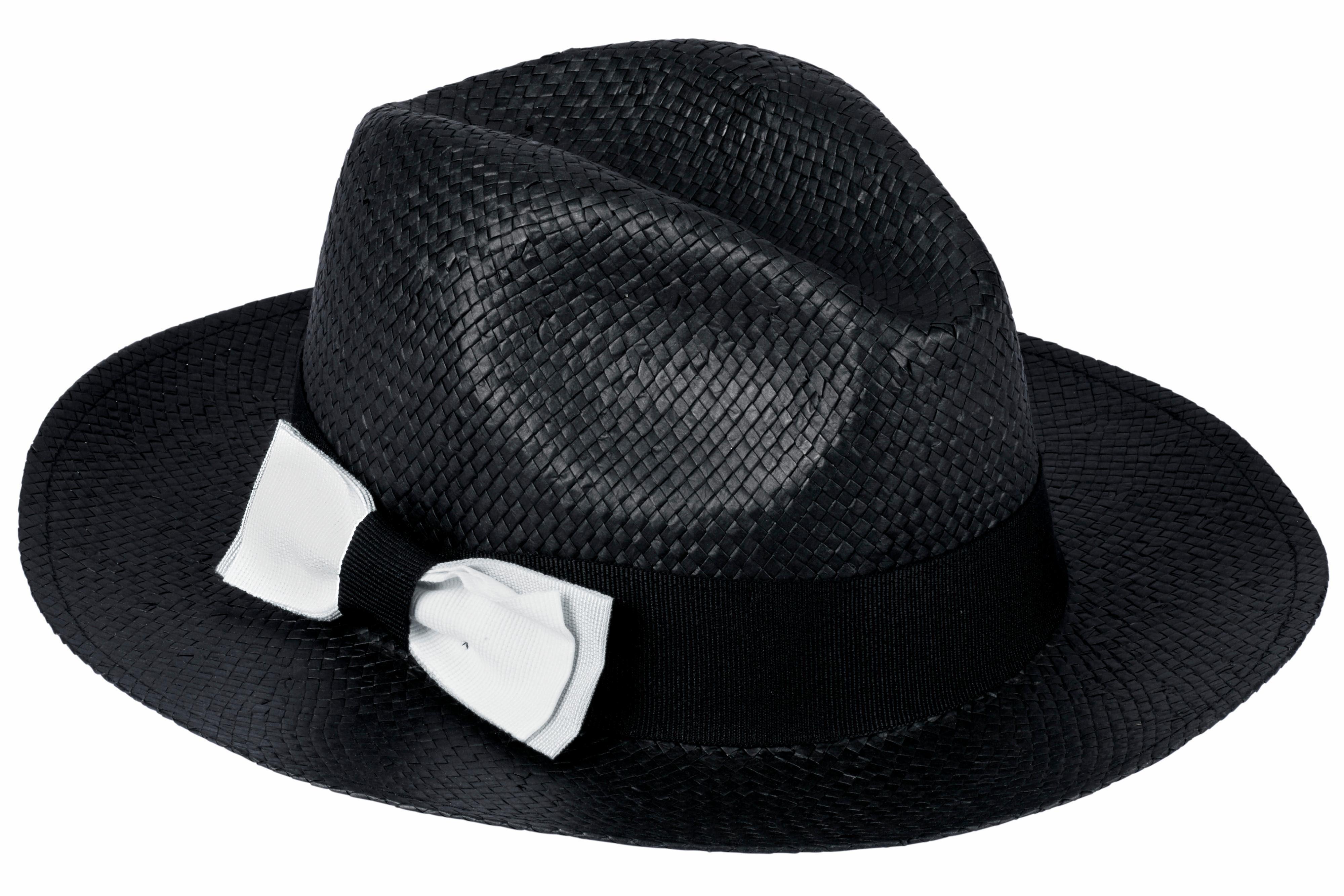 COLLEZIONE ALESSANDRO Hut mit seitlicher Schleife
