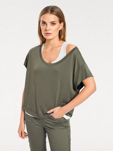 RUBINA STONES Shirt Two-in-one-Look