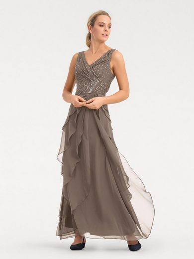 ASHLEY BROOKE by Heine Abendkleid mit Plisseefalten