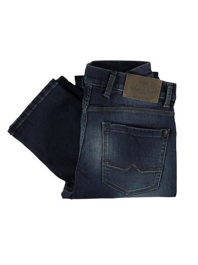 Engbers Jeans With Rustic Wash Effects