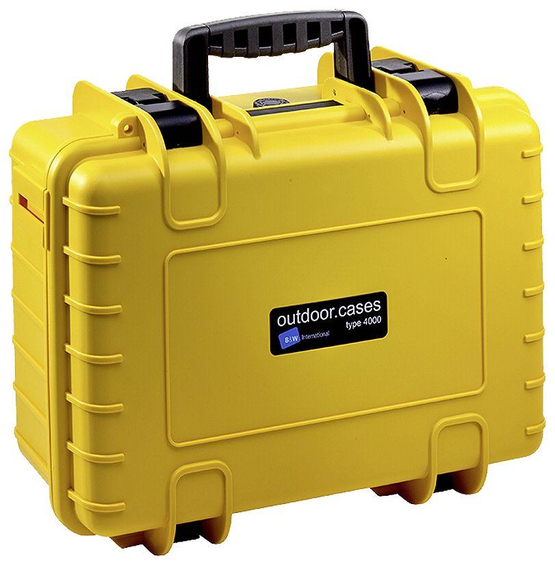 B&W International Actioncam »B&W Outdoor Case Type 4000/Y mit GoPro 4 Inlay«