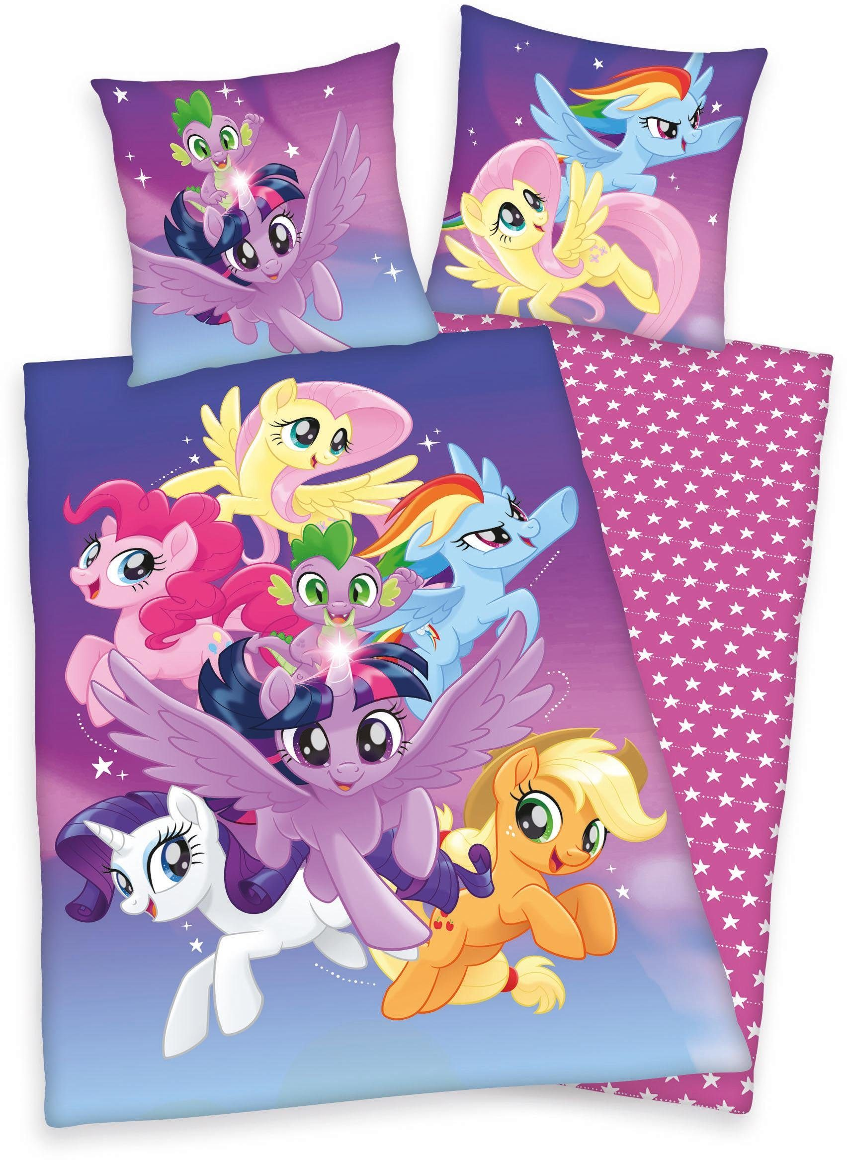 Kinderbettwäsche »My little Pony«, mi Motiv