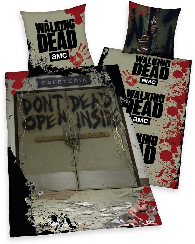 Bettwasche The Walking Dead 3 Mit Fotomotiv Otto