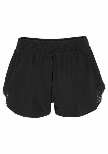 O'Neill Shorts LW SMOCK FESTIVAL SHORTS, Spitzeneinsätze
