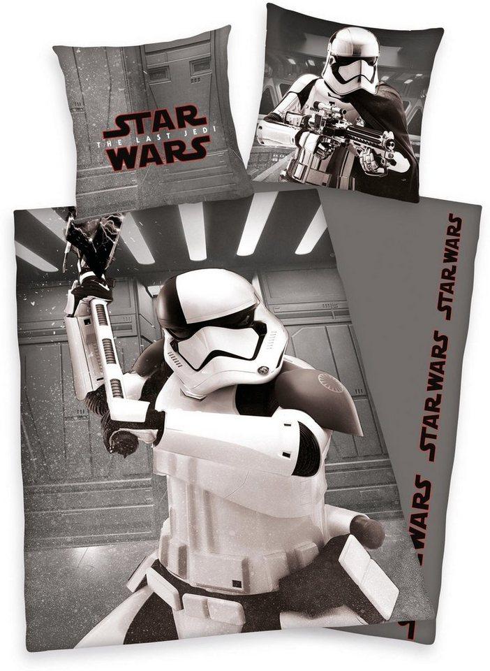 Jugendbettwäsche »Der letzte Jedi«, Star Wars, mit Motiv online ...