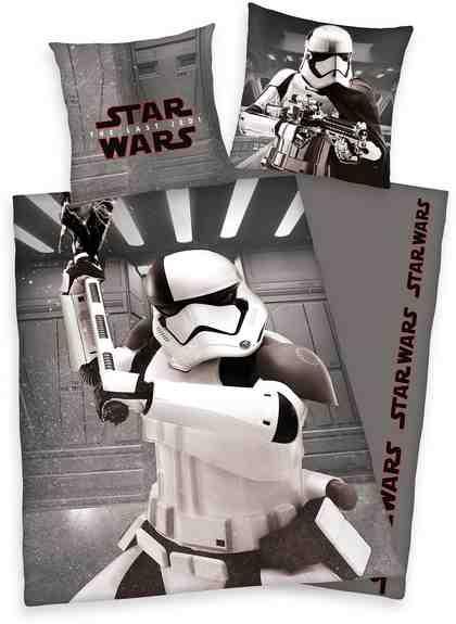 Jugendbettwäsche »Der letzte Jedi«, Star Wars, mit Motiv