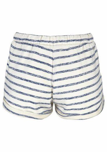 O'Neill Shorts LW ESSENTIALS SWEAT SHORTS, Geringelt mit Eingrifftaschen