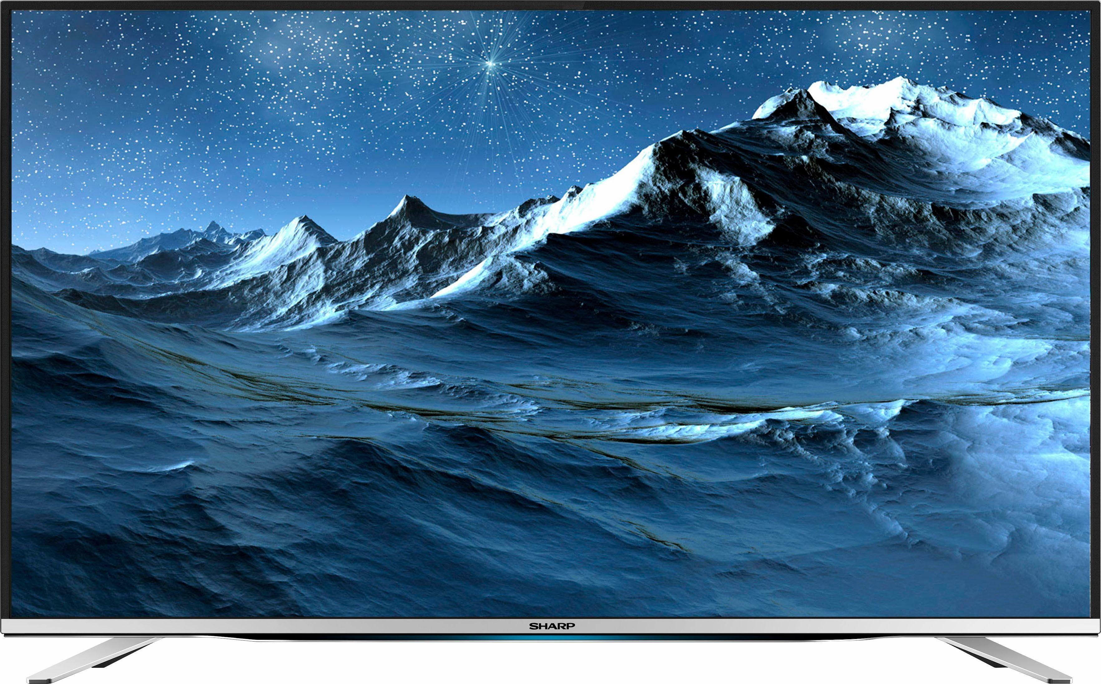 Sharp LC-55CFG6452E LED-Fernseher (139 cm/55 Zoll, Full HD, Smart-TV)