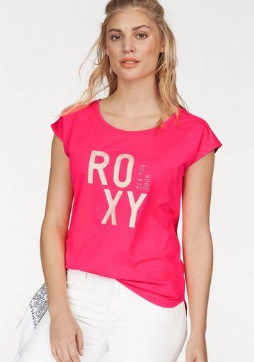 Roxy Funktionsshirt PARI WALK TEE, Atmungsaktv und schnell trocknend
