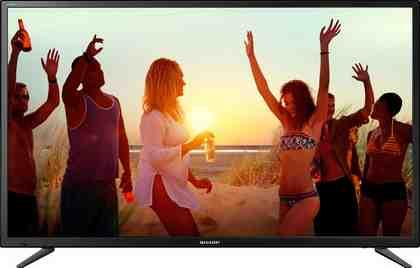 Sharp LC-49CUG8052E LED-Fernseher (123 cm/49 Zoll, 4K Ultra HD, Smart-TV)