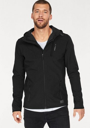 O'Neill Softshelljacke OM COAST SOFTSHELL, Innen kuscheliges Fleece