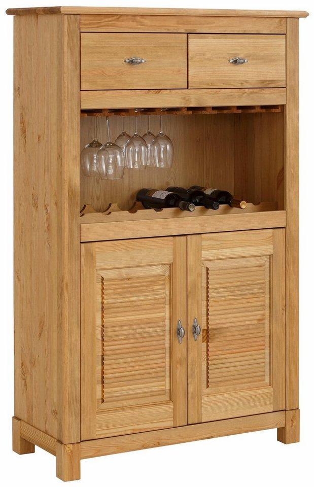 home affaire minibar rauna mit 2 lamellent ren und 2. Black Bedroom Furniture Sets. Home Design Ideas