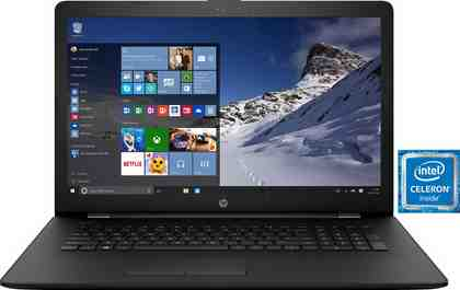 "HP 17-bs542ng, 17,3"" Notebook, Intel® Celeron™, 43,9 cm (17,3 Zoll), 256 GB Speicher"