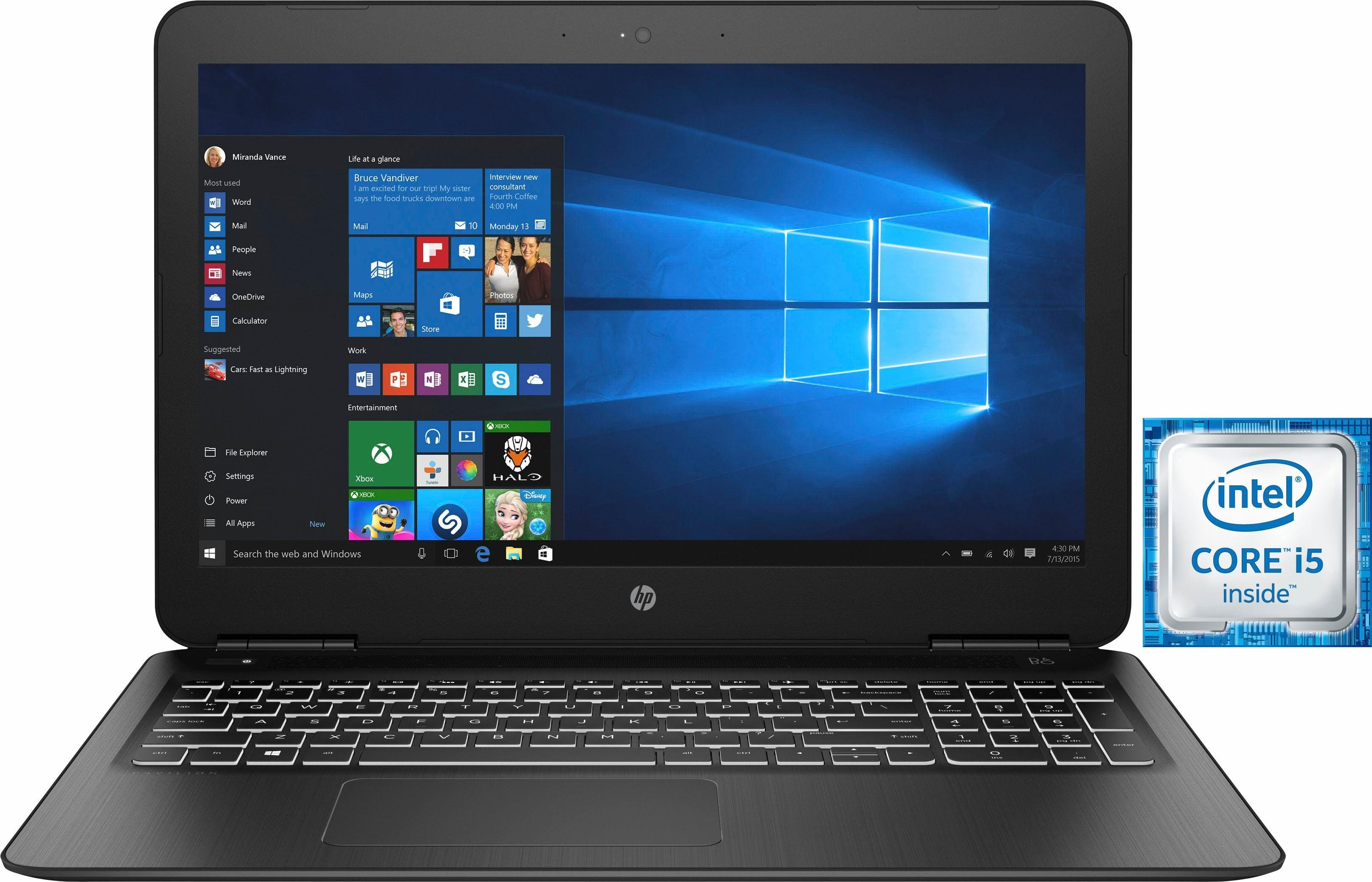 """HP 15-bc300ng, 15,6"""" Notebook, Intel® Core™ i5, 39,6 cm (15,6 Zoll), 1128 GB Speicher"""