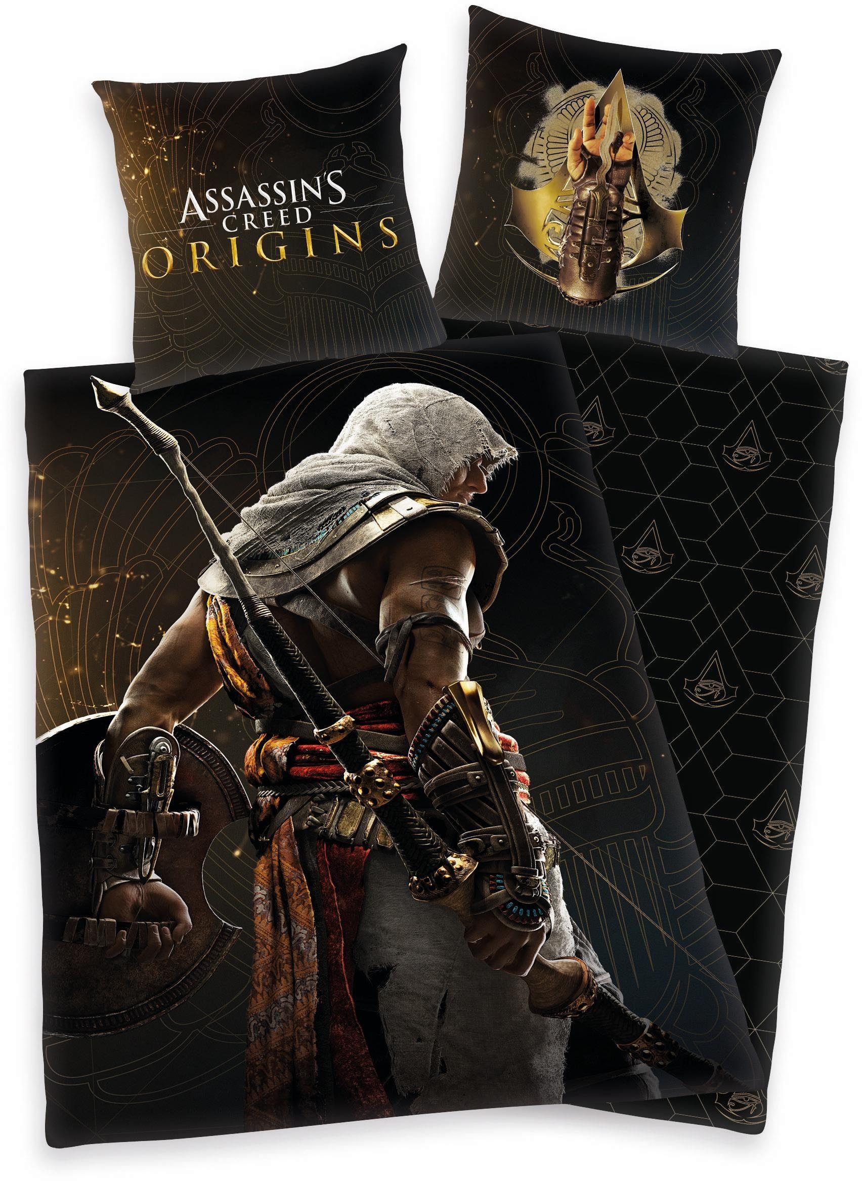 Kinderbettwäsche »Assassin's Creed«, mit Motiv