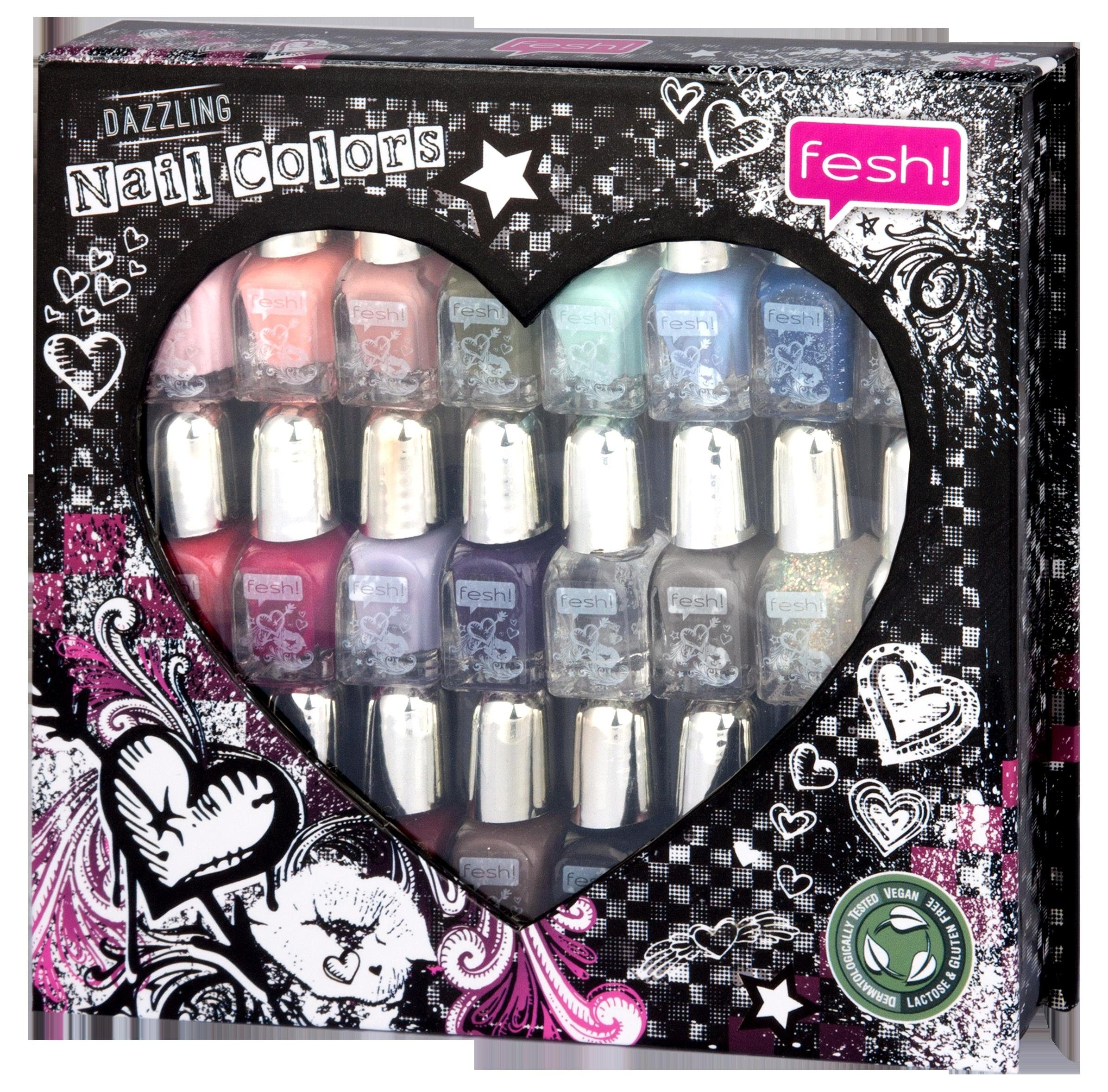 »Dazzling Nail Colors«, Nagellack-Set