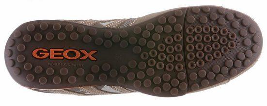 Geox Snake Sneaker, im Materialmix