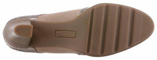 Tamaris Schnürpumps, mit ergonomisch geformter Brandsohle