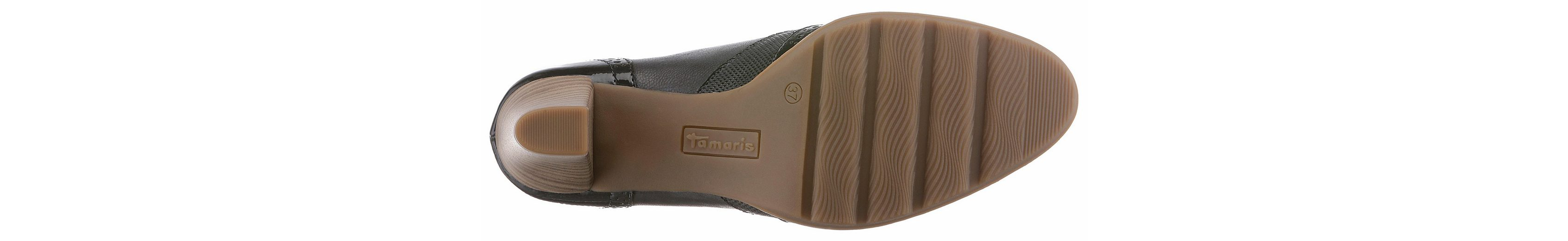 Brandsohle Hochfrontpumps mit Tamaris Tamaris Hochfrontpumps geformter mit ergonomisch tq1t0Tpw