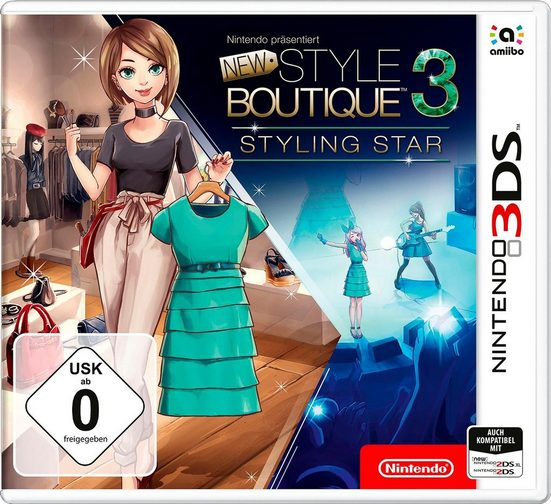 New Style Boutique 3 – Styling Star Nintendo 3DS