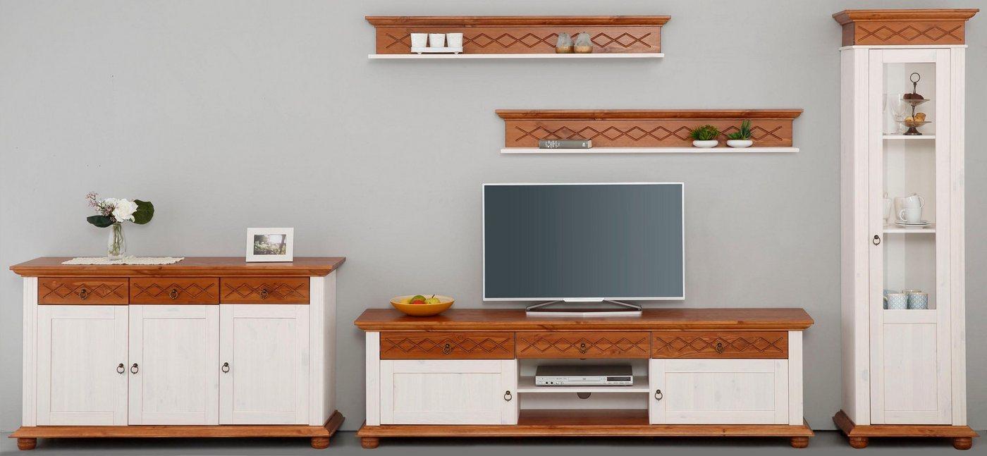45 sparen home affaire wohnwand helma 5 tlg nur 472 00 cherry m bel otto. Black Bedroom Furniture Sets. Home Design Ideas