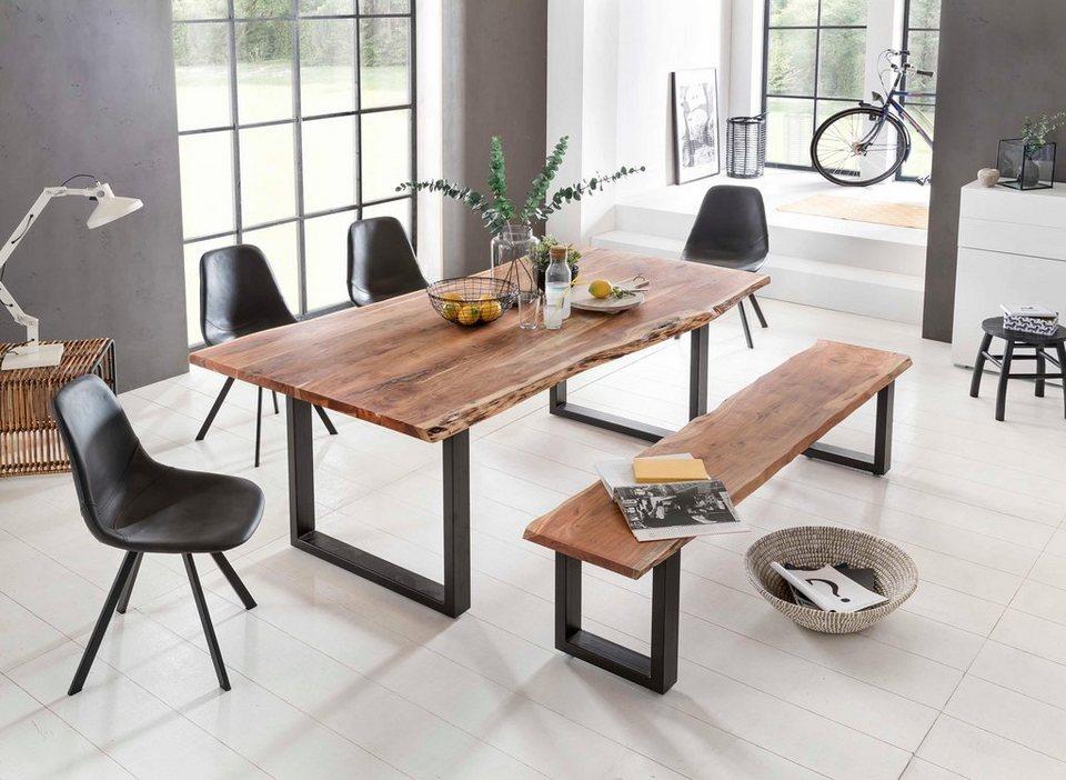 premium collection by home affaire esstisch manhattan. Black Bedroom Furniture Sets. Home Design Ideas