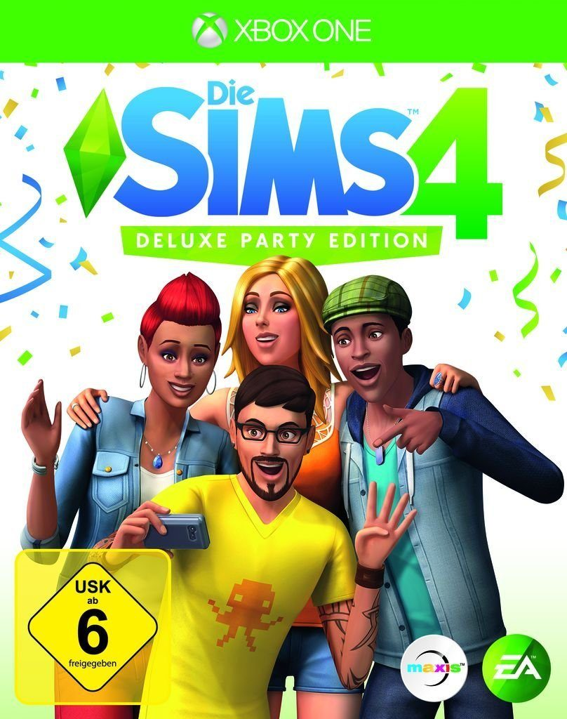 Electronic Arts XBOX One - Spiel »Die Sims 4 - Deluxe Party Edition«