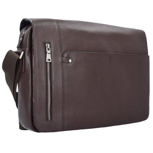 Esquire Sydney Messenger Leder 40 cm Laptopfach
