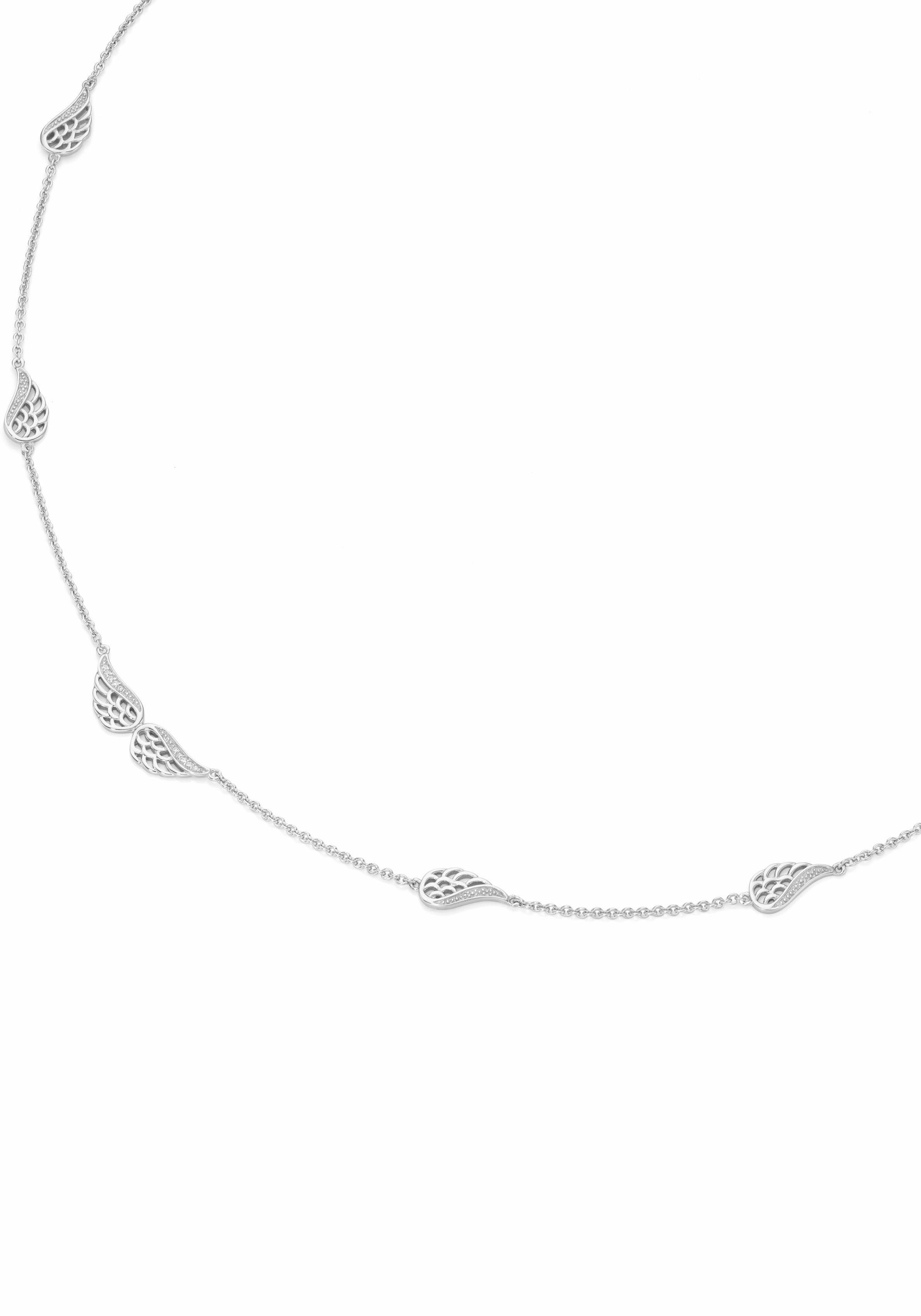 Firetti Silberkette »Flügel«, mit Zirkonia