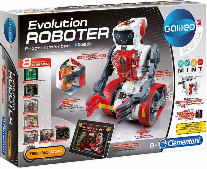 Clementoni® Experimentierkasten »Galileo Evolution Roboter«, Made in Europe