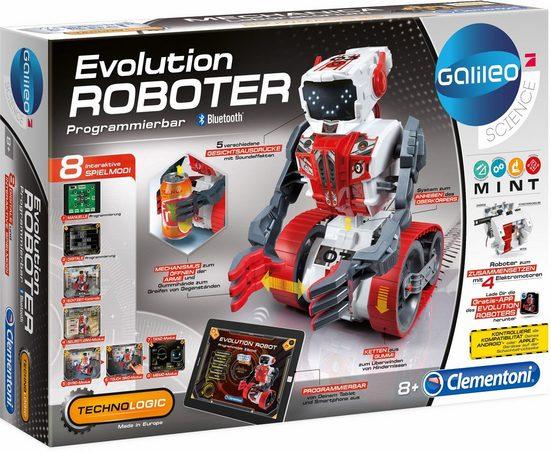 Clementoni® Experimentierkasten »Galileo Evolution Roboter«